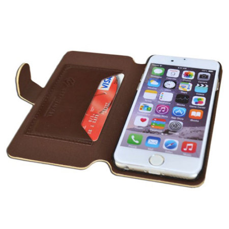 Create and Case iPhone 6S Plus / 6 Plus Wallet Case - Vulpes