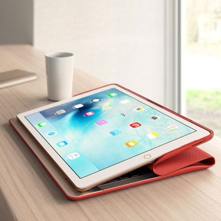 Logitech Create Backlit Keyboard Case with Smart Connector for iPad Pro 12.9-Inch Red