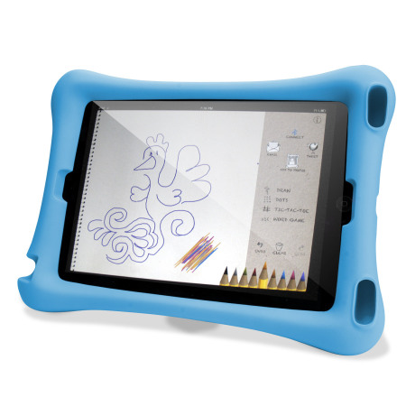 Olixar Big Softy Child-Friendly iPad Mini 4 Case - Blue