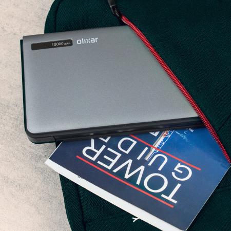 Olixar Powercharge Portable Charger - 15,000mAh