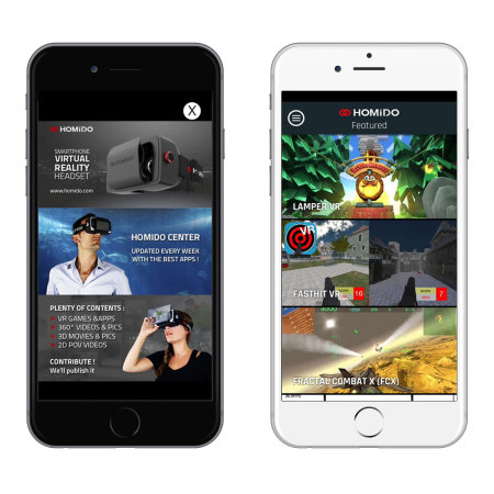 mode: homido virtual reality headset for ios android smartphones 2