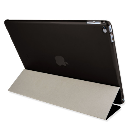 Olixar iPad Pro 12.9 inch Folding Stand Smart Case - Clear / Black