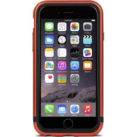 Moshi IGlaze Luxe iPhone 6S / 6 Bumper Case - Alloy Orange