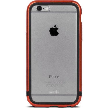 Moshi IGlaze Luxe iPhone 6S / 6 Bumper Case - Alloy Orange
