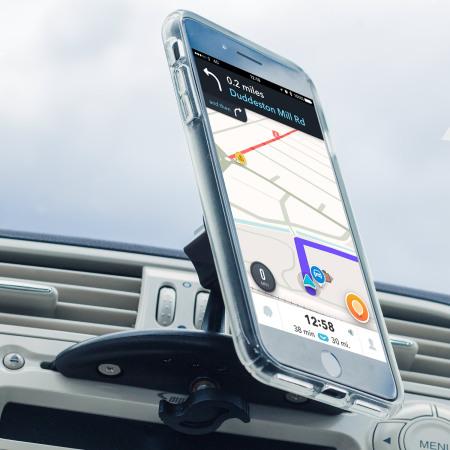Support Magnetique Fente CD Universel pour Smartphone Olixar