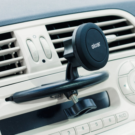 does compare olixar magnetic cd slot mount universal smartphone car holder can not