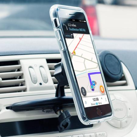 System olixar magnetic cd slot mount universal smartphone car holder that kinda