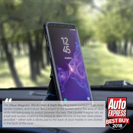 fine but olixar magnetic windshield dash mount universal car holder originally thought was