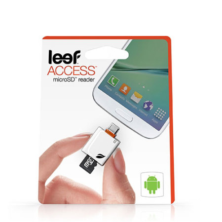 Leef Access MicroSD Reader for Android - White
