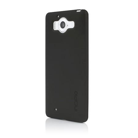 incipio ngp microsoft lumia 950 flexible impact resistant case black