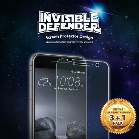 few rearth invisible defender htc one a9 screen protector 4 pack unfortunately