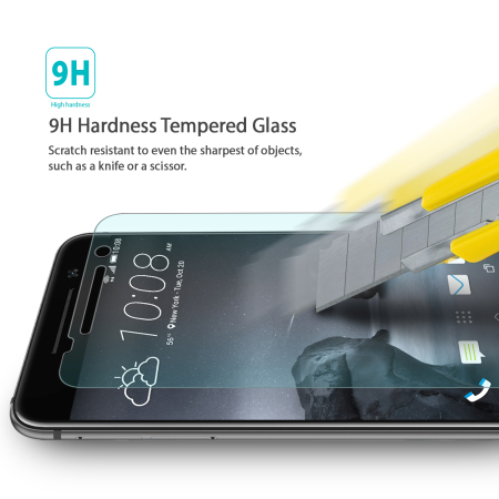 off the rearth invisible defender htc one a9 tempered glass screen protector 5 the