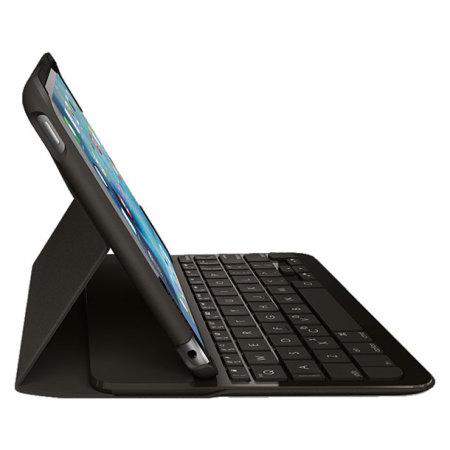 coque clavier ipad mini 4 logitech protectrice. Black Bedroom Furniture Sets. Home Design Ideas