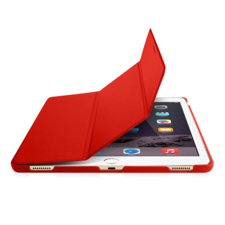 Macally BookStand iPad Pro 12.9 inch Smart Case - Red