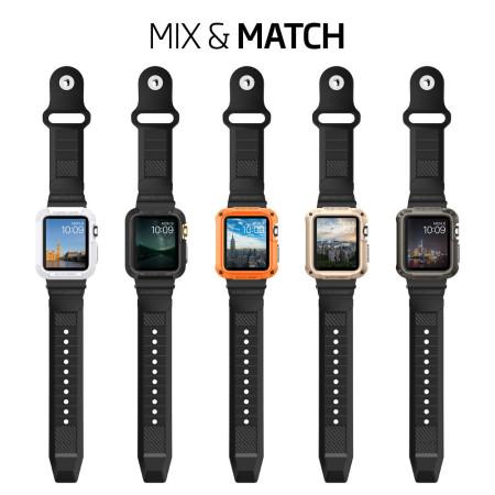 Spigen Rugged Apple Watch Series 2 / 1 Strap - 42mm - Black