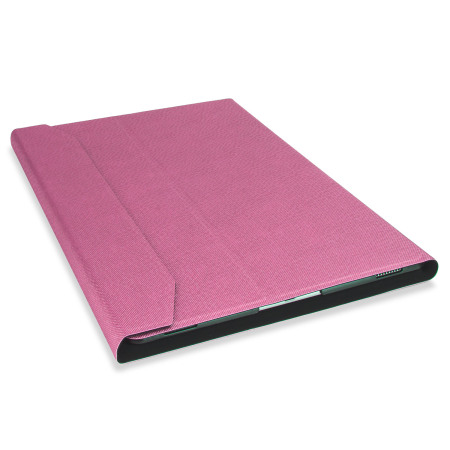 ultra thin aluminium keyboard ipad pro 12 9 inch folding case pink