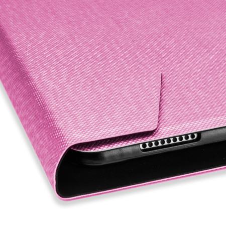 ultra thin aluminium keyboard ipad pro 12 9 inch folding case pink settled