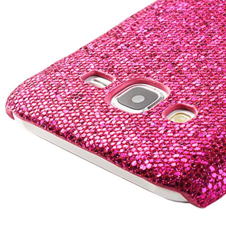 Olixar Samsung Galaxy J5 2015 Glitter Case - Magenta