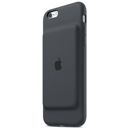 Official iPhone 6S Smart Battery Case - Charcoal Grey