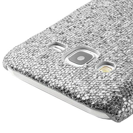 Olixar Samsung Galaxy J5 2015 Glitter Case - Silver