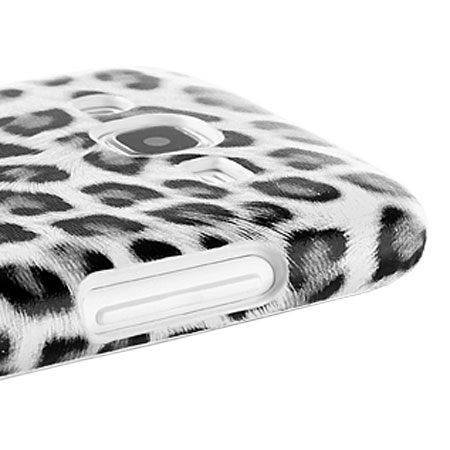Olixar Samsung Galaxy J5 2015 Animal Print Case - Snow Leopard