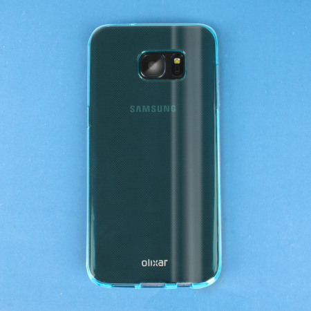 FlexiShield Samsung Galaxy S7 Gel Case - Blue