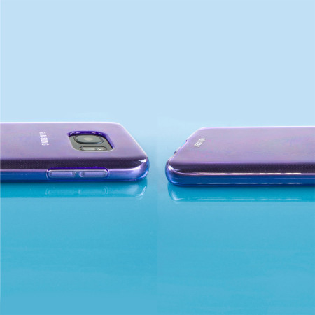 FlexiShield Samsung Galaxy S7 Gelskal - Lila