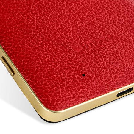 Tapa Trasera Lumia 950 Mozo con Carga Inalámbrica Qi - Roja