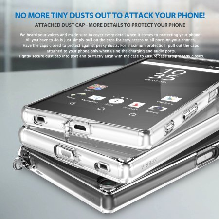 Rearth Ringke Fusion Sony Xperia Z5 Premium Case - Crystal Clear