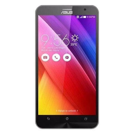 Flexishield Asus Zenfone 2 Case - Smoke Black