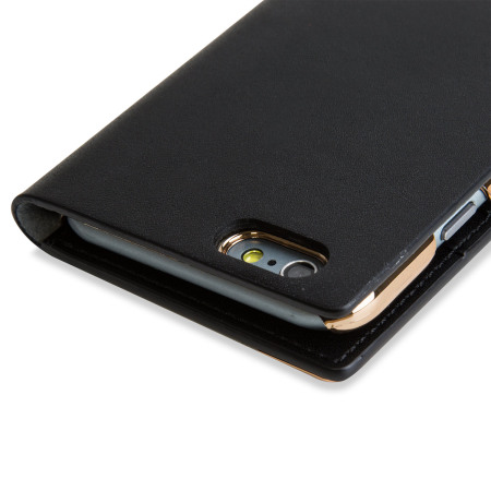 mini powered nubia slg metal edition iphone 6s 6 leather wallet case black