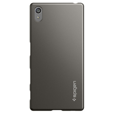 Spigen Thin Fit Sony Xperia Z5 Shell Case - Smooth Black