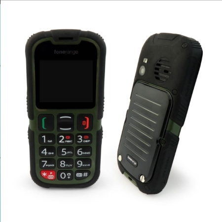 SIM Free Fonerange Rugged SOS Tough Unlocked Mobile Phone