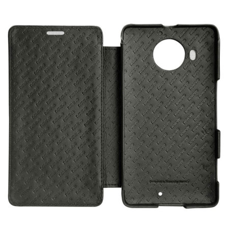 Noreve Tradition D Microsoft Lumia 950 XL Leather Case - Black