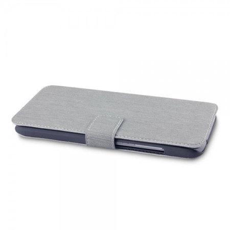 Olixar Low Profile Huawei G8 Wallet Case - Grey