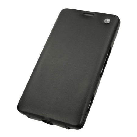 Noreve Tradition Lumia 950 XL Leather Case - Black