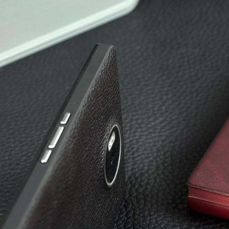 Mozo Microsoft Lumia 950 XL Wireless Charging Back Cover - Black Rim