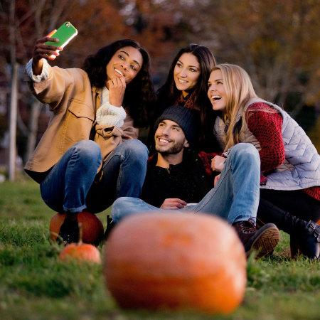 LuMee iPhone 6S Plus / 6 Plus Selfie Light Case -  Rose Gold