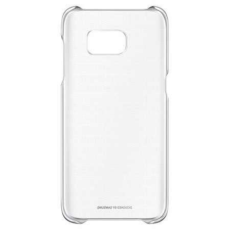 Official Samsung Galaxy S7 Edge Clear Cover Case - Silver