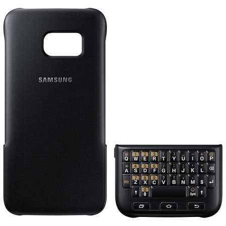 Official Samsung Galaxy S7 Keyboard Cover - Black