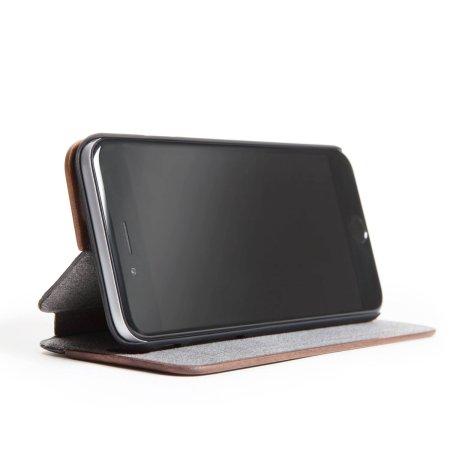 Woodcessories EcoFlip Comfort Wooden iPhone 6S/ 6 Case - Walnut