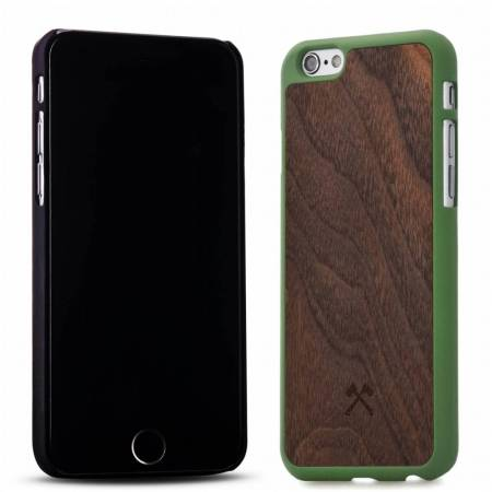 woodcessories ecocase casual iphone 6s 6 bamboo navy blue