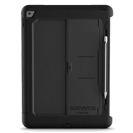 premium selection dda4c 8d332 Griffin Survivor Slim iPad Pro 12.9 inch Tough Case - Black