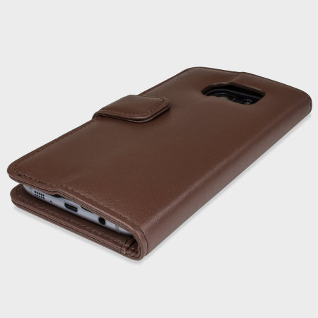 USA olixar genuine leather samsung galaxy s7 edge wallet case brown reviews first
