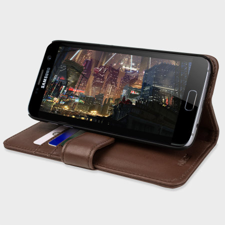 olixar genuine leather samsung galaxy s7 edge wallet case brown reviews that's what really