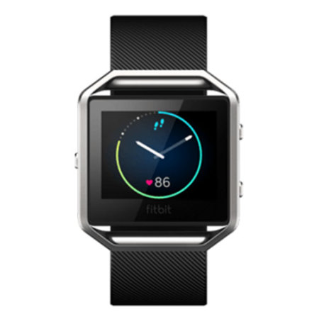 View larger image of fitbit blaze fitness smartwatch large black