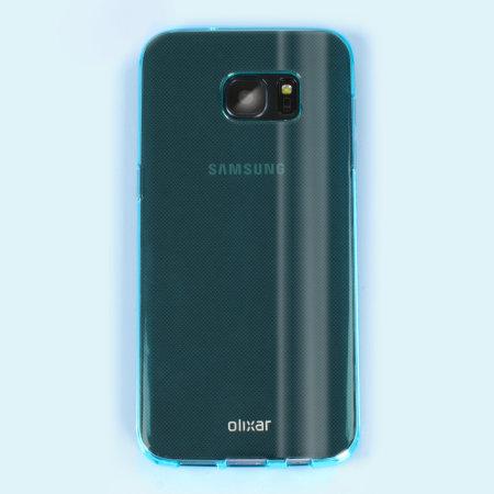 item flexishield samsung galaxy s7 edge gel case blue 11 does not