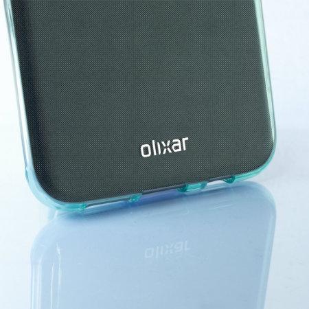 FlexiShield Samsung Galaxy S7 Edge Gel Case - Blue