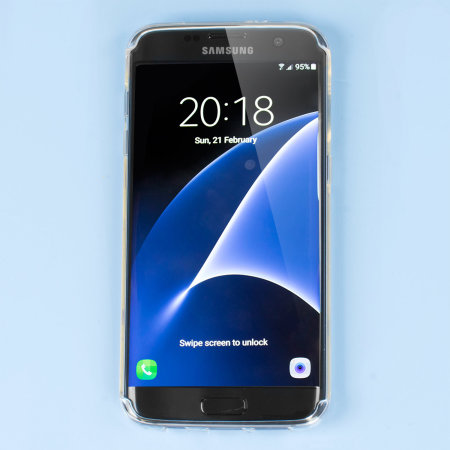Olixar FlexiShield Samsung Galaxy S7 Edge Gel Case - Clear