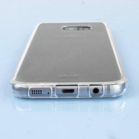 FlexiShield Samsung Galaxy S7 Edge Gel Etui – Transparent